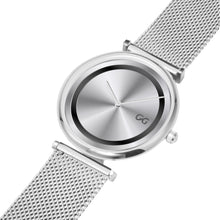 Load image into Gallery viewer, GG Stainless Steel Bracelet Silver Unisex Luxury Water resistance Watch