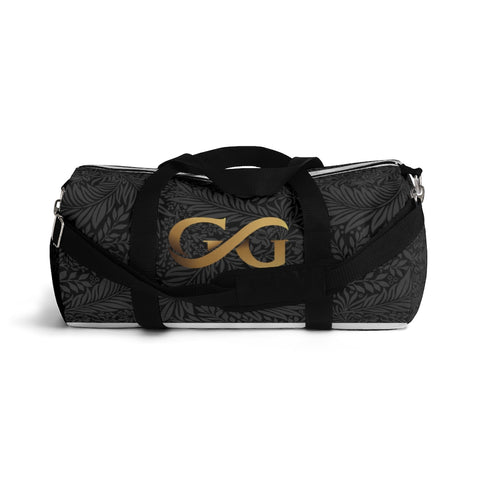 GG Golden Logo on Black Duffel Bag