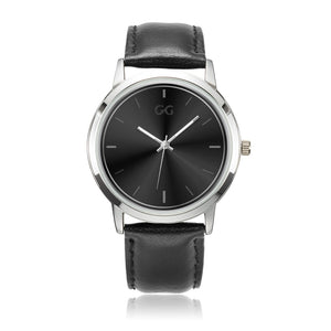 GG Black & Silver Watch