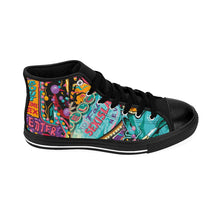 Load image into Gallery viewer, Pop Art High-top Sneakers