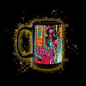 Sex Island Black Mug 15oz
