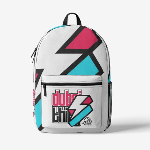 Retro Colorful Print Trendy Backpack