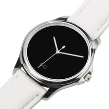 Load image into Gallery viewer, GG Stainless Steel White Genuine Leather Band Water resistance Unisex Watch