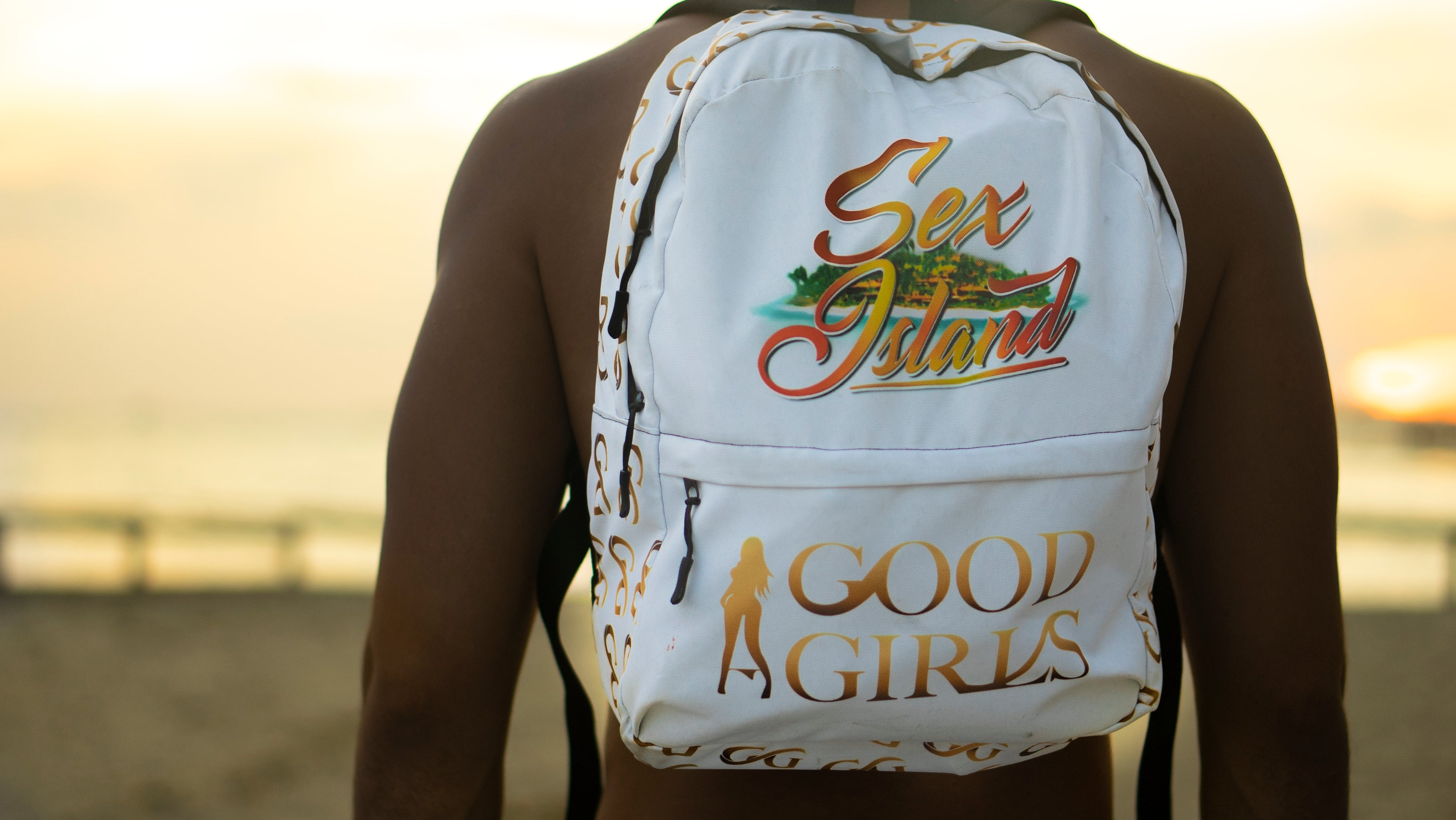 Sex Island & Good Girls Backpack Collaboration