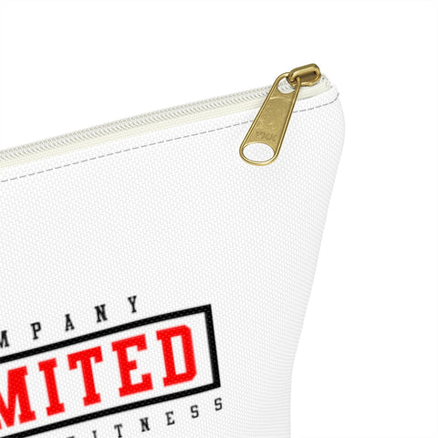 GG Company Unlimited White Accessory Pouch w T-bottom