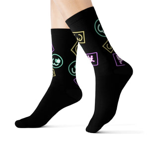Sublimation Socks Sex Island