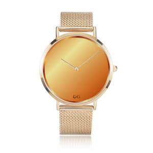 GG Gold Luxury Watch Milanese Band