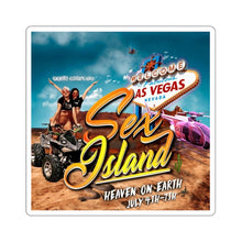 Load image into Gallery viewer, Sex Island Sticker Logo