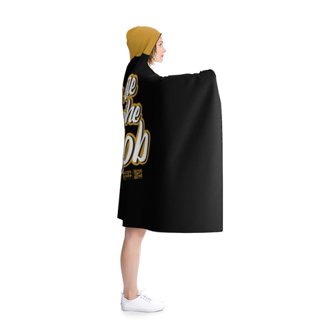 Im Here About The Blowjob Hooded Blanket