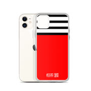 Red and Stripes iPhone Case
