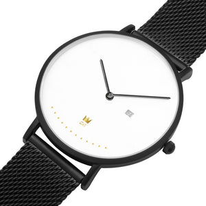 GG Watch Milanese Band ( Black, Silver & Gold options )