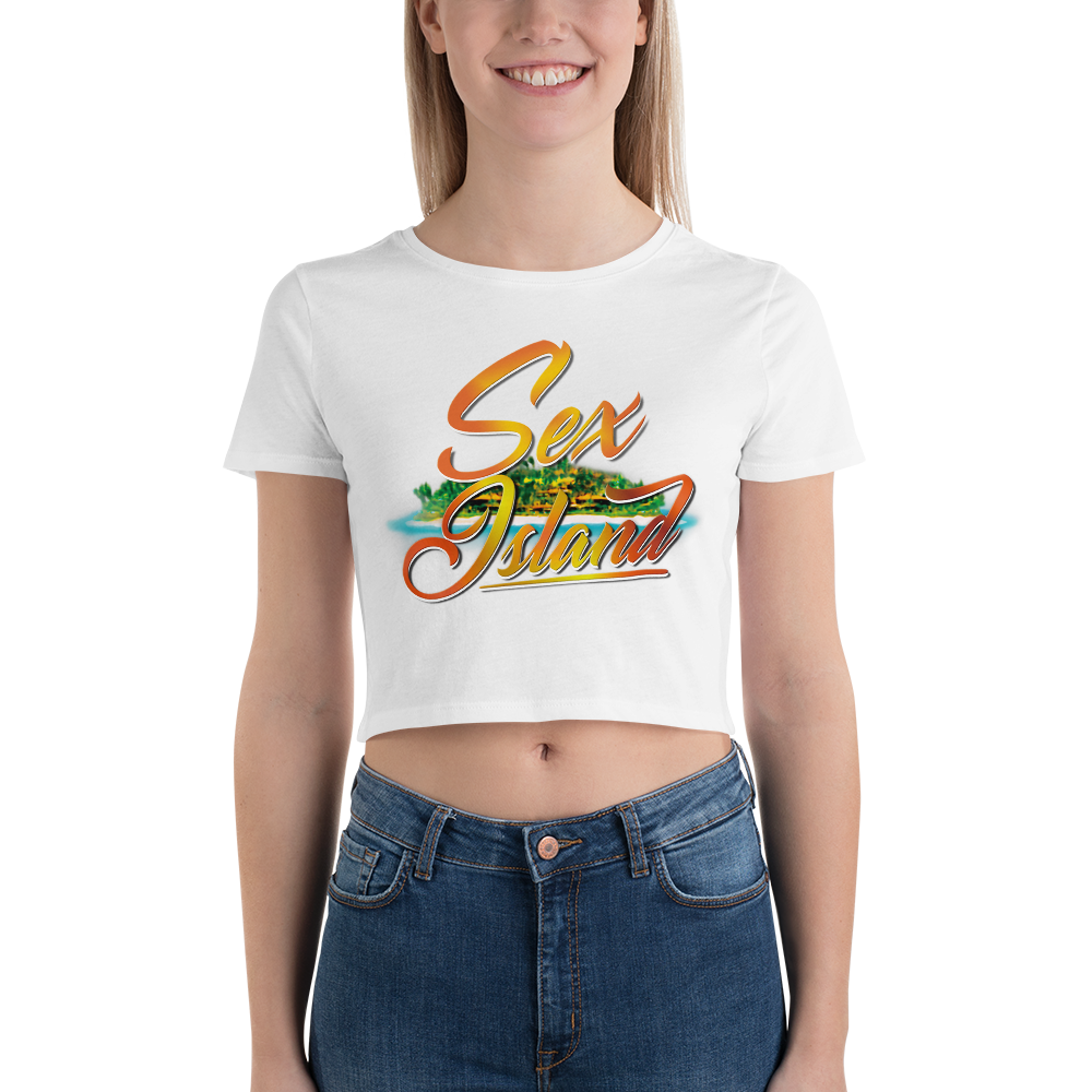 Sex island Women's Crop Tee