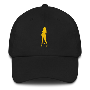 Good Girls Model Dad Hat B&W color options