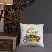Load image into Gallery viewer, Sex island Square Pillow