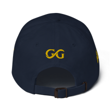 Load image into Gallery viewer, Good Girls  Cursive Gold Dad Hat