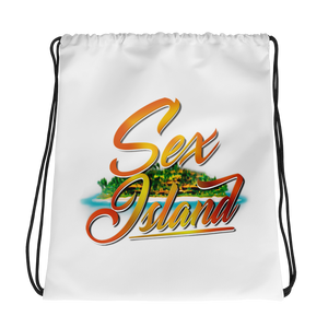 Sex Island Drawstring Bag