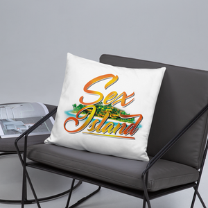 Sex island Square Pillow
