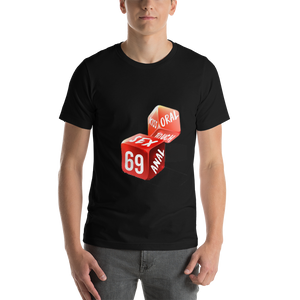 Black Sex Dice T-shirt