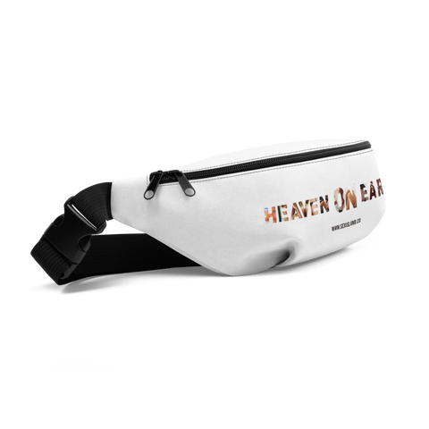Heaven On Earth Fanny Pack White