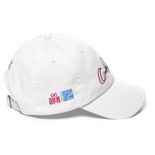 Load image into Gallery viewer, GG cuersive bLue and pink Hat