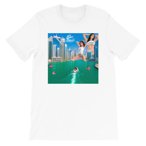 Short-Sleeve Unisex T-Shirt Dubai Model 1