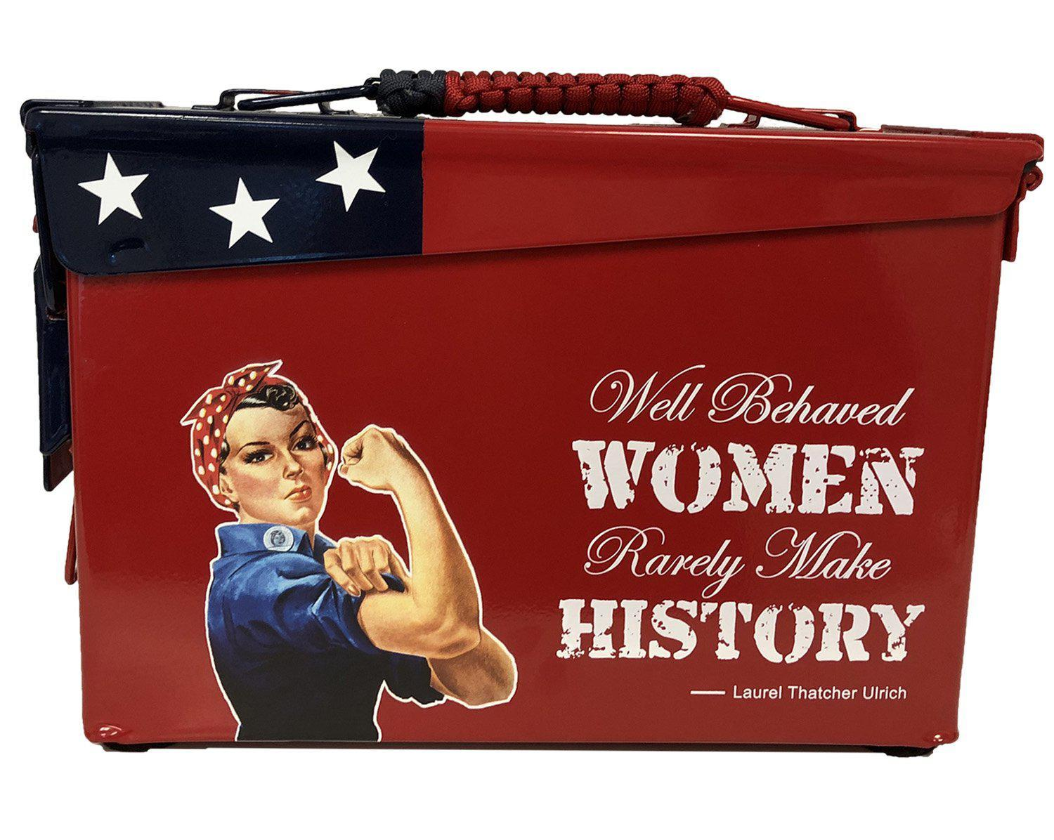 Rosie The Riveter Custom Ammo Can