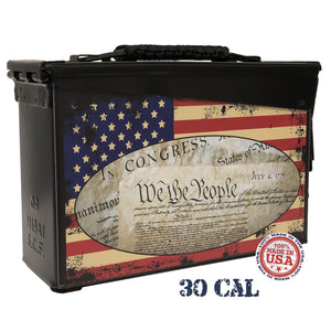 We the People - Custom Ammo Can