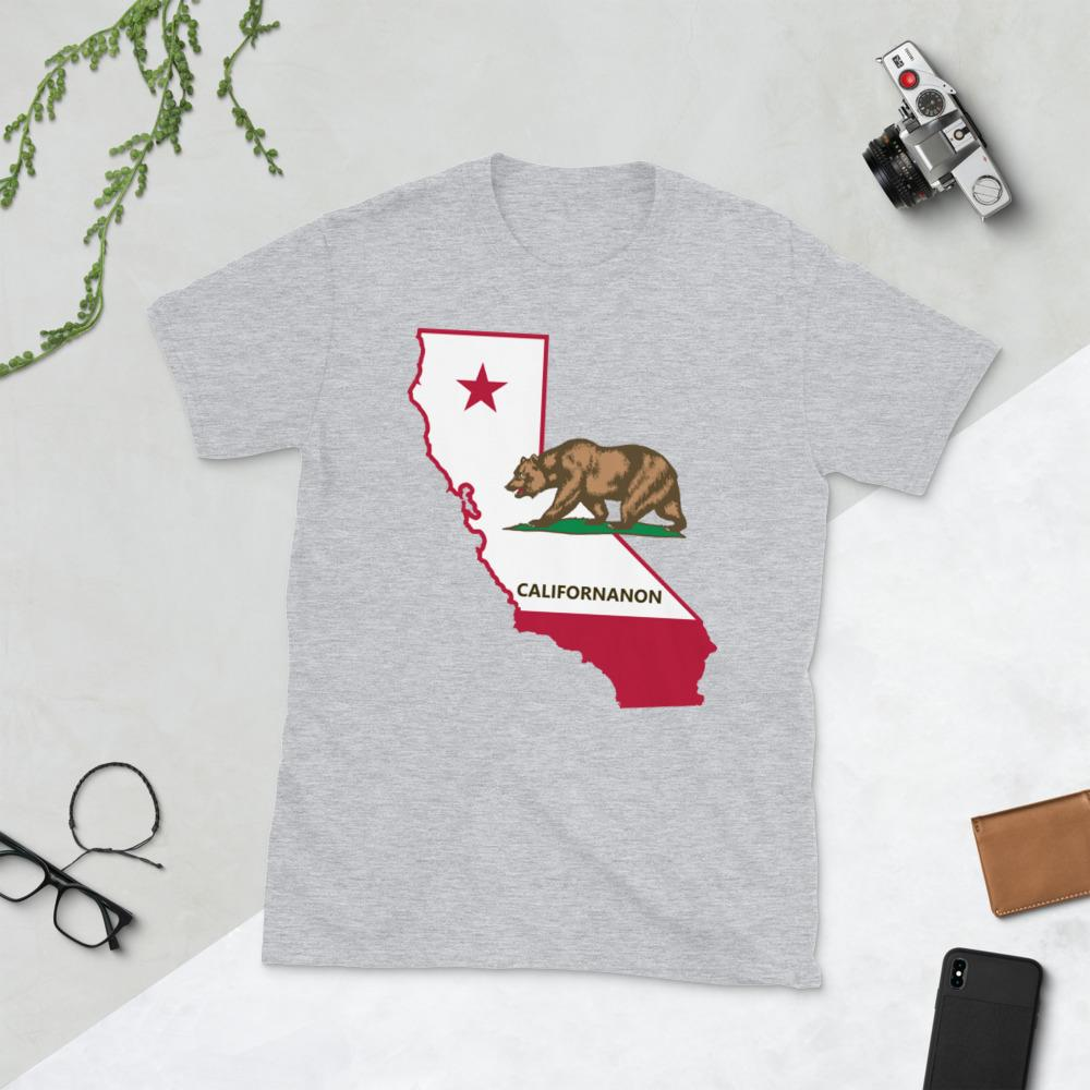 """CalifornAnon"" Short-Sleeve Unisex T-Shirt"