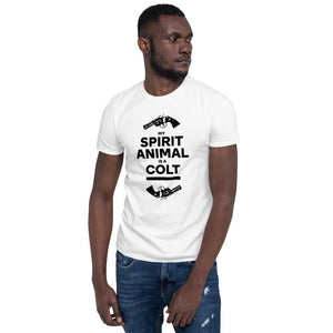 """My Spirit Animal Is A Colt - two of em "" Unisex T-Shirt"