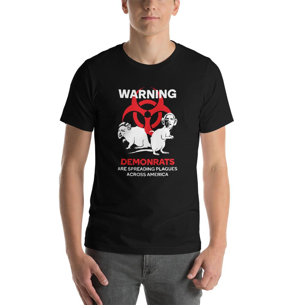 """DEMONRATS - BORDERLESS"" Unisex T-Shirt"
