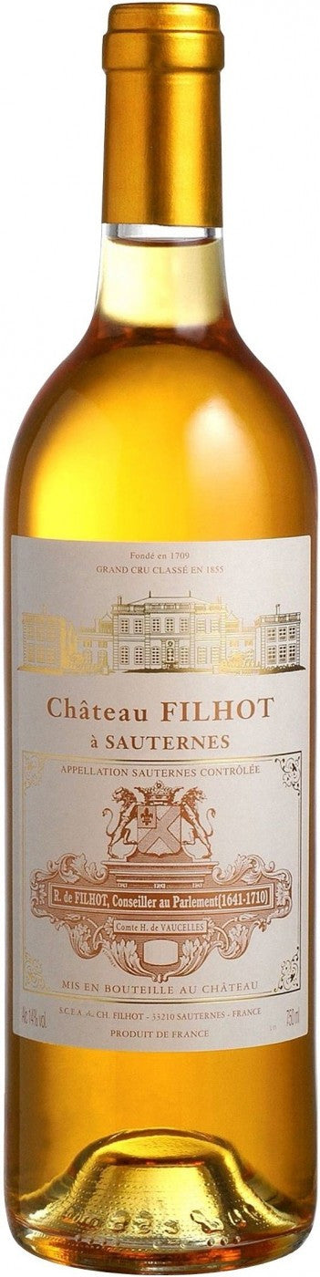 Chateau Filhot, Sauternes 2010 (1/2 Bottle)