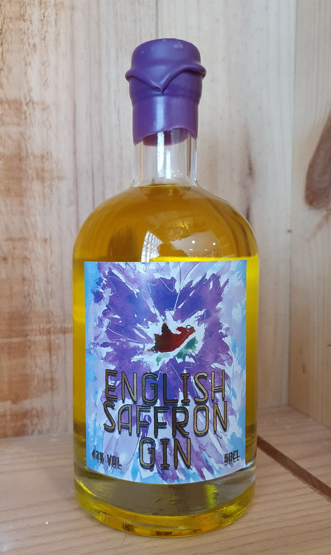 English Saffron Gin (50cl & 25cl)