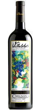 The Wild Vineyard, Villalobos Carignan Reserva 2016