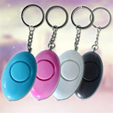 Police Approved Personal Emergency Keychain Panic Alarm With Led Light