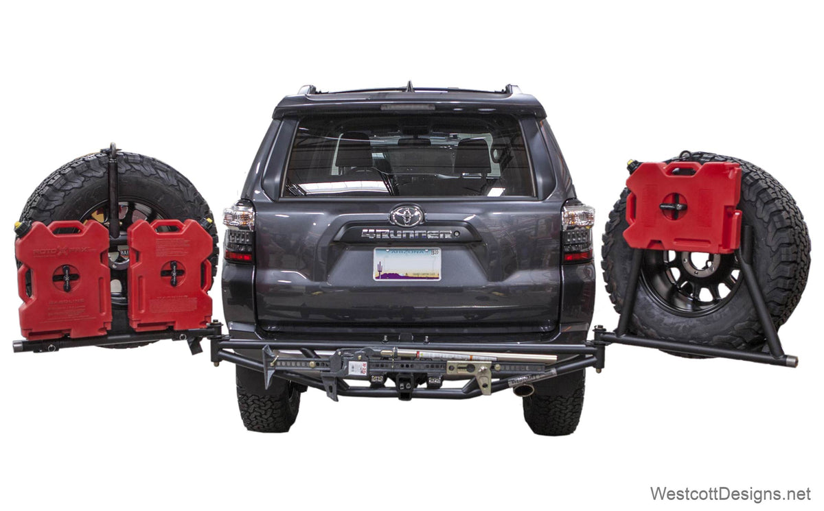 tail gate utility rack