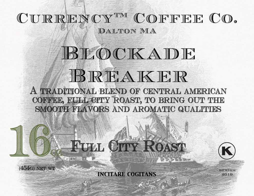 Currency® Coffee Blockade Breaker