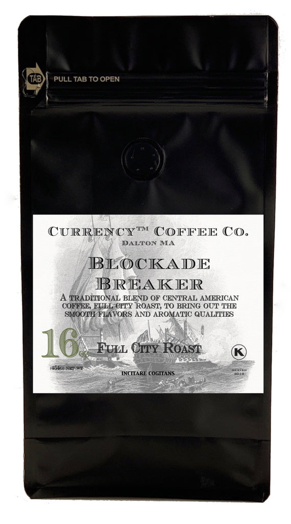 Currency™ Coffee Blockade Breaker