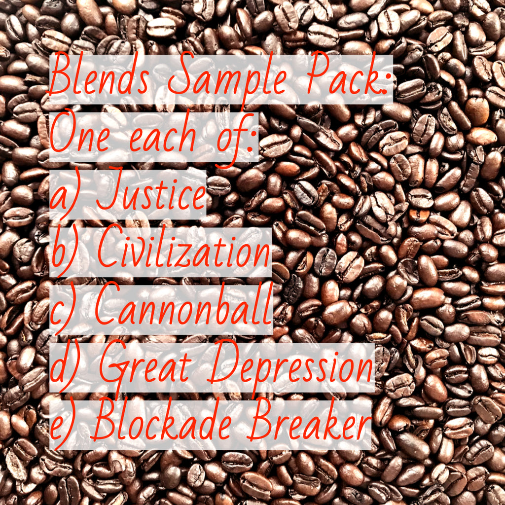 Coffee Sample Packages