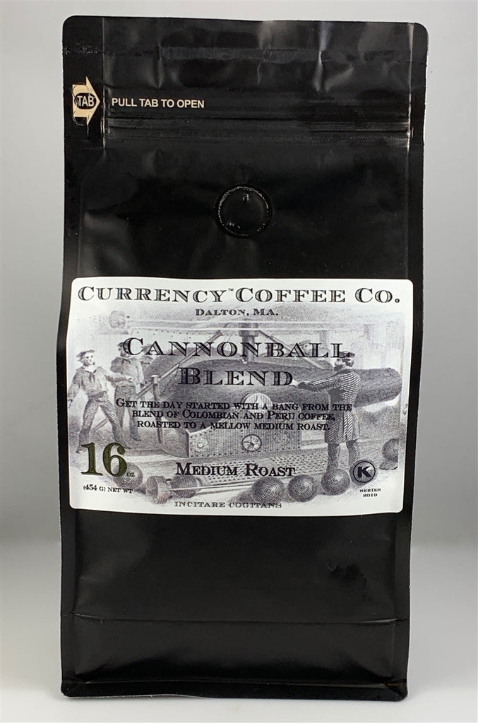 Currency™ Coffee Cannonball Blend 1-lb