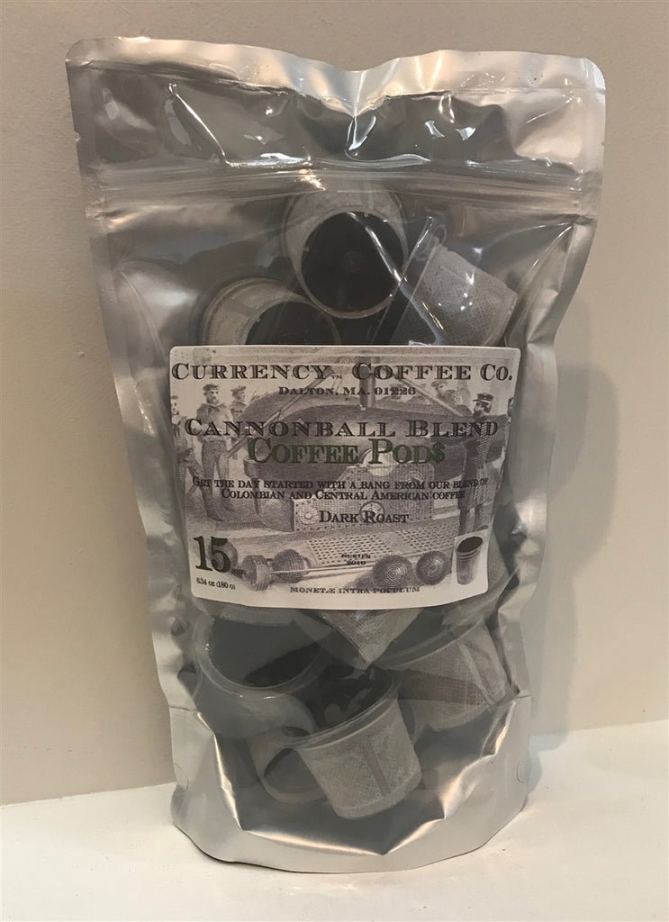 Currency™ Coffee Cannonball Blend Pods 15-count