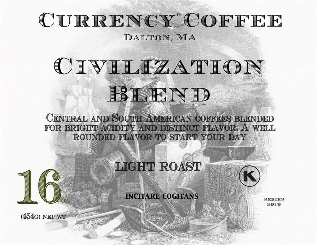 Currency™ Coffee Civilization Blend