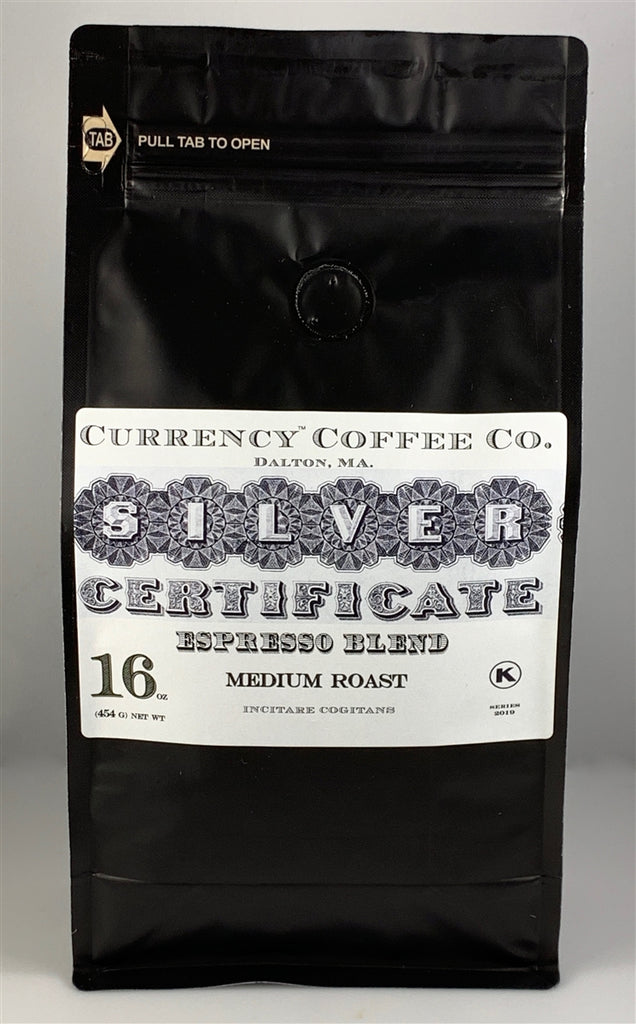 Currency™ Coffee Silver Certificate Blend