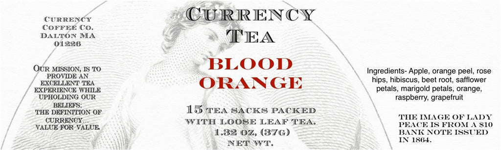 Currency™ Tea Blood Orange 15-count