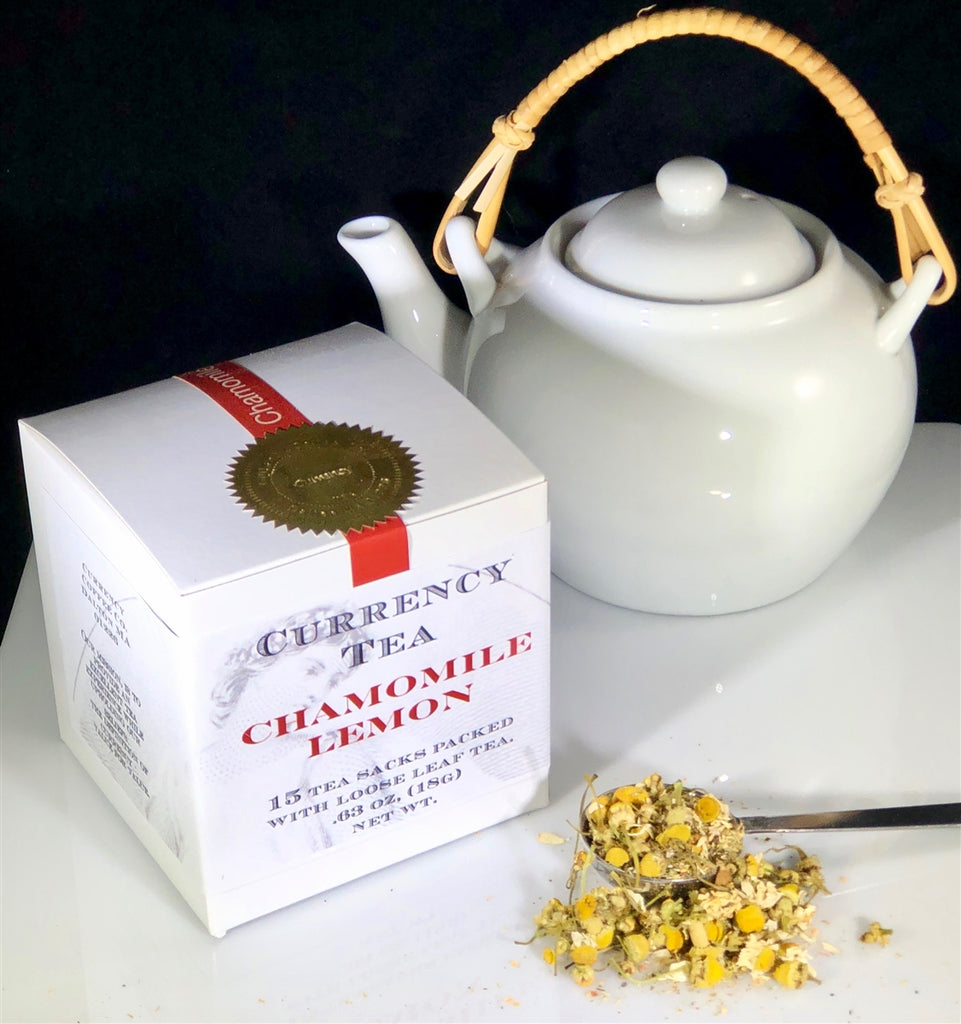 Currency™ Tea Chamomile Lemon 15-count