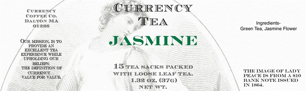 Currency™ Tea Jasmine 15-count