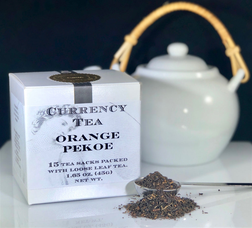 Currency™ Tea Orange Pekoe Reserve 15-count