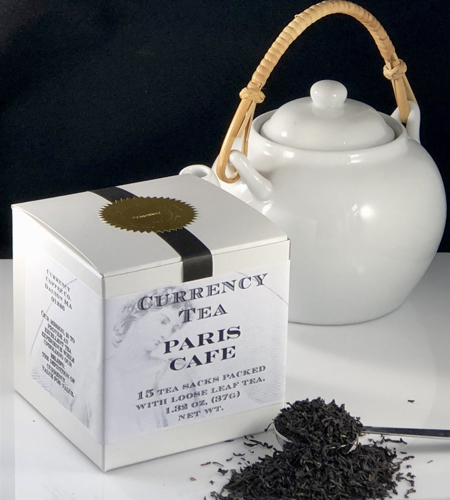 Currency™ Tea Paris Cafe 15-count
