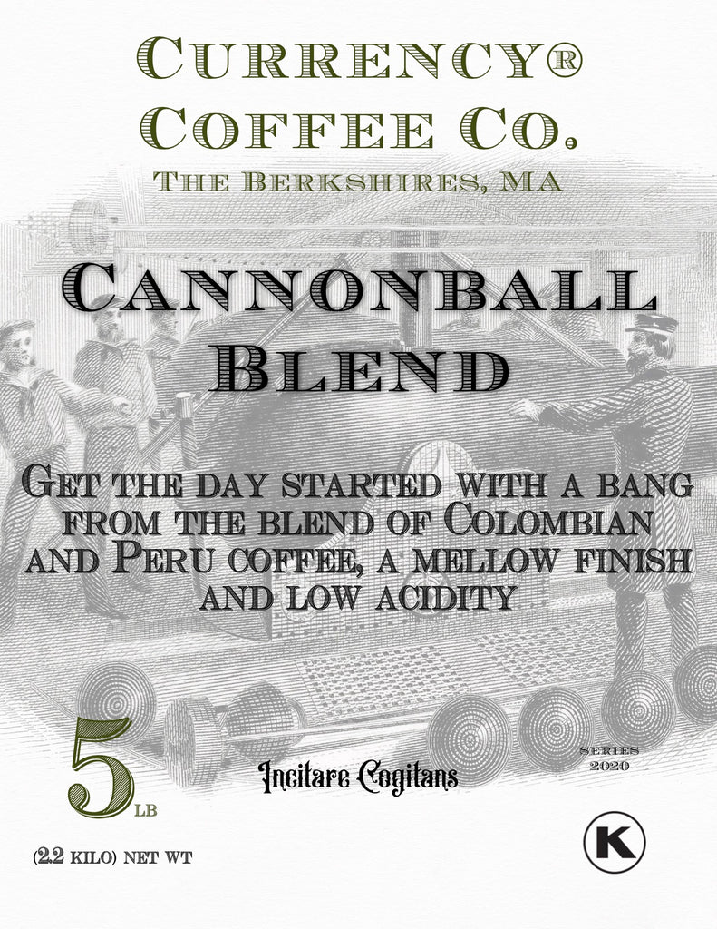Currency® Coffee Cannonball Blend