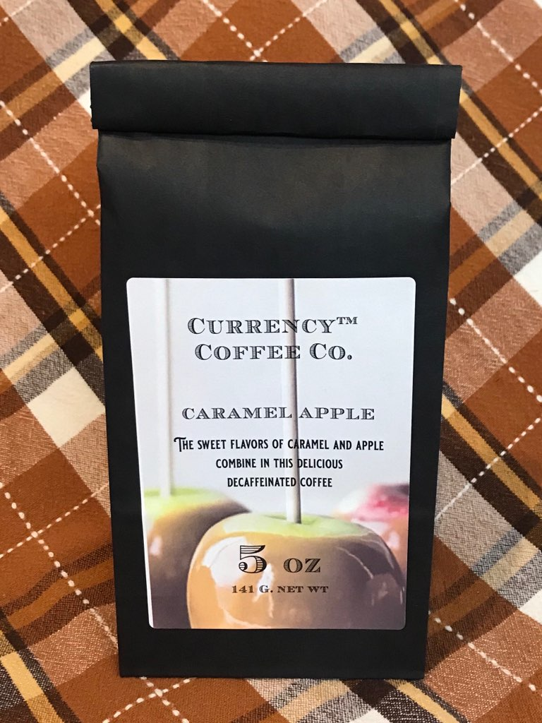 Caramel Apple Decaffeinated Coffee 5oz