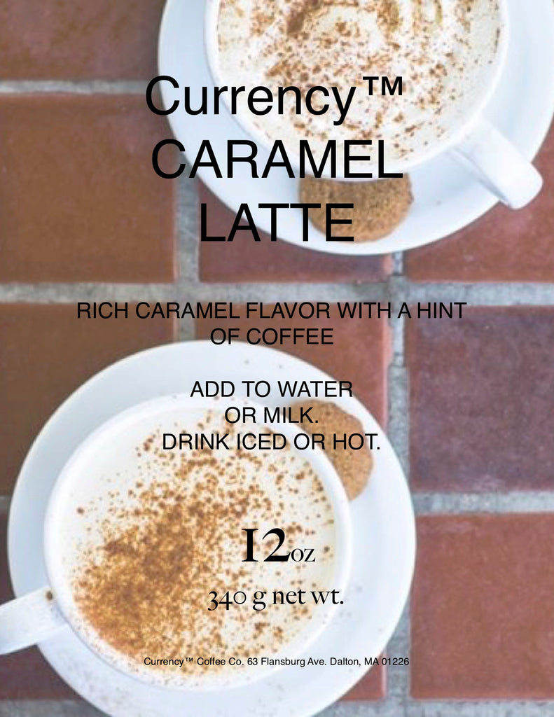 Currency™ Caramel Latte (limited ingredient)
